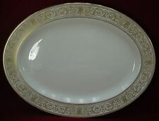 """ROYAL DOULTON china SOVEREIGN H4973 pattern OVAL MEAT Serving PLATTER 16-1/4"""""""