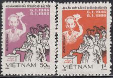 N.Vietnam MNH Sc 1596-97 Mi 1654-55  Value $ 2.25 US $ Election