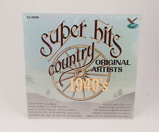 Super Hits Original Country Artists 1940s LP Record Sealed