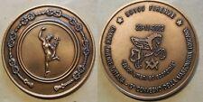 medaglia 9° convegno della massoneria in Toscana Grande Oriente d'Italia