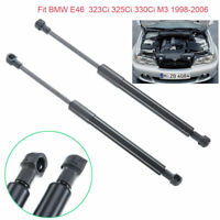Vehicle Front Bonnet Hood Gas Lift Support Struts For BMW 3 Series E46 1998-2006