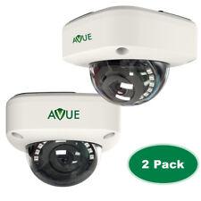 2Pack 2MP CCTV, 1080P 2.8mm Mini Dome CCTV Camera 4in1 CVI/TVI/AHD/CVBS(SD) DWR