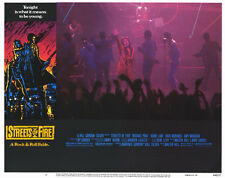 STREETS OF FIRE Movie POSTER 11x14 F Michael Pare Diane Lane Rick Moranis Amy