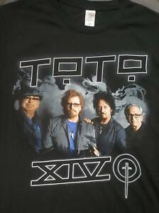 TOTO XIV - 2016 Concert Tour - T-Shirt Black Small Official Brand New Dead Stock