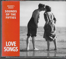 READERS DIGEST SOUNDS OF THE FIFTIES LOVE SONGS 3 CD BOXSET VGC