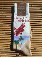 """Tommy Bahama """"Come Fly With Me"""" socks mens"""