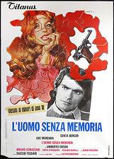 CINEMA-manifesto L'UOMO SENZA MEMORIA berger, merenda, orsini, TESSARI