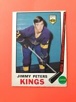 Jimmy Peters 1969-70 O-Pee-Chee OPC Hockey Card #143  See Photos for Condition