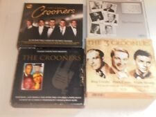 CD / A SELECTIONOF FOUR CROONERS  CD SETS (COMPILATIONS( 3 X 3 CDS & 1 DOUBLE