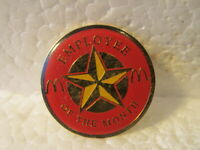 McDonald's Employee of the Month Star Collectible Pin pin3380