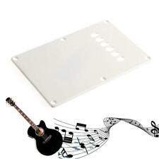 White Back Plate Tremolo Trem Cover For Fender Stratocaster Strat Parts New