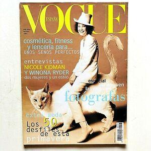 Vogue España Spagna Spain febrero 1997 Peggy Sirota Winona Ryder Rossy de Palma