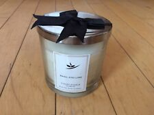 The Fragrance People Basil and Lime Scented Medium Candle in Glass Jar NEW (E)
