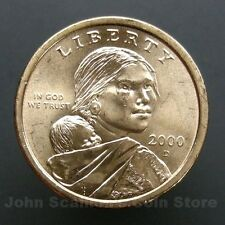 2000-D Native American Sacagawea Dollar $1 Choice BU Mint US Coin