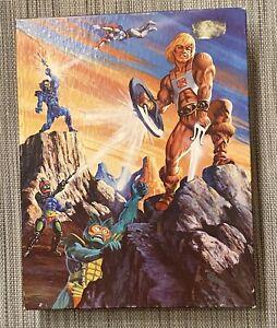Vintage MOTU He-Man Mark Of The Sword 100pc Puzzle Complete Skeletor Mer-man CIB