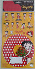 BETTY BOOP CD STICKER PACK 18 STICKERS ON CARD