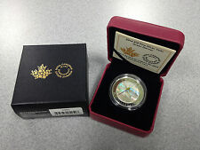 2014 Royal Canadian Mint 1/2oz $10 Silver Coin: Green Darner Dragonfly