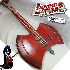 MARCELINE Adventure Time AXE BASS Guitar -- Life Size Prop Cosplay 1:1 Replica !