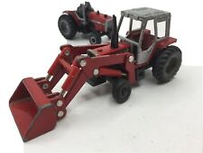 ERTL Die Cast Tractor Massey Ferguson 699 W/Loader 1:64 Scale * Used Condition*