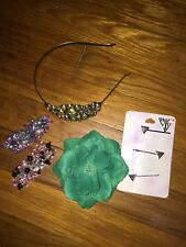Girls skull Headband hair clips handmade claires  Katy perry Bobby pins colors