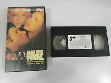ANALISIS FINAL VHS COLECCIONISTA EDICION ESPAÑOLA RICHARD GERE UMA THURMAN