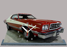 MODEL CARS, FORD GRAN TORINO, STARSKY AND HUTCH-05 with Clock