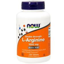 Now Foods, L-Arginine, 1,000 mg, 120 Tablets , Fast Dispatch !
