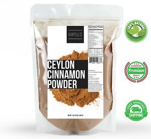 1 LB Hayllo All Natural Premium CEYLON Cinnamon Powder, SRI LANKA, Free Shipping