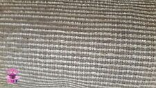 Home Decor Heavy Upholstery Grey Striped Fabric by the Yard