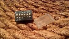 Lot de 3 commutateurs PCB x Mini Switch 6 Way DIP DIL Switch DLS-6