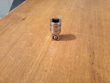 "Vintage Snap-on Tools USA 3/8"" to 1/2"" Drive Expand Chrome Socket Adapter No. A2"
