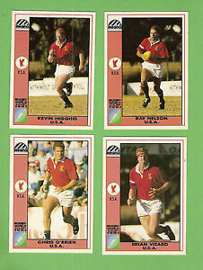 #D557.  1991  UNITED  STATES  USA  RUGBY UNION WORLD CUP CARDS