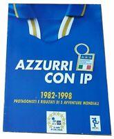 Azzurri con IP Set Completo Figurine + Album Vuoto Merlin