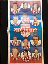 A&BC Gum Stoke City Football Club 1972-73 No. 11 Giant Team Poster Memorabilia