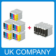 25 Ink Cartridge Replace for LC970 LC1000 MFC-235C MFC-260C printer
