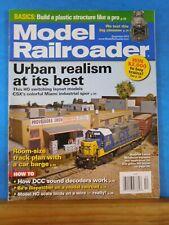 Model Railroader Magazine 2013 December Urban realism Plastic structure build