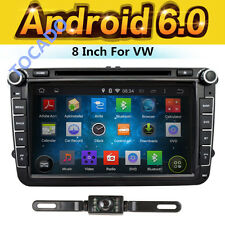 "For VW Volkswagen Jetta Passat 8"" Car GPS Stereo DVD Navi 2DIN Radio Android 6.0"