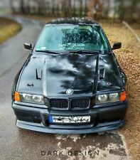 BMW e36 Bonnet with air inlets for Touring Sedan Compact Dark Design drift race
