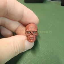 "Painted Service 1/12 Captain America Red Skull Head Sculpt for 6"" ML Mez One:12"