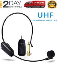 Microfonos Inalambricos Profesionales Professional Recargables Diadema Estudio