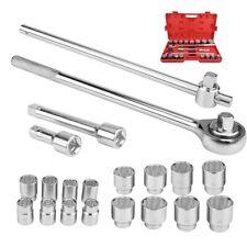 "21pcs 3/4"" Inch Drive Socket Wrench Spanner Set Car Truck Repair Tools Sockets"