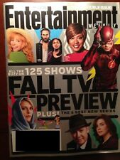 Entertainment Weekly Magazine FALL TV PREVIEW 125 Shows September 19-26, 2014