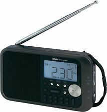 Silva Schneider WE 212 PLL UKW Weltempfänger, Kofferradio Uhr-/ Weckfunktion