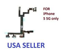 Replacement Power Mute Volume Control Button Switch Flex Cable For iPhone 5 5G
