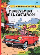 Pastiche Tintin - L'enlèvement de la Castafiore. Hors Commerce cartonné 40 pages
