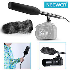 Neewer 14.17inch Camera  Shotgun Mic Microphone For Sony Canon Nikon Olympus