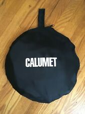 """Calumet 42""""  MultiDisc Collapsible Reflector - Silver, Gold, White, and Black"""