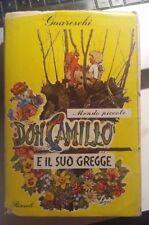 LIBRO DON CAMILLO E IL SUO GREGGE MONDO PICCOLO GUARESCHI RIZZOLI 1 ED. MAGG1953