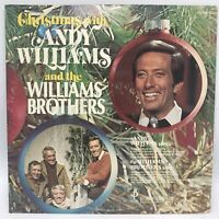 Christmas With Andy Williams And The Williams Brothers LP Stereo C 10105 VG+