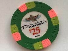 Pharaoh's orig. Paulson Club Denom $ 25 Pokerchips - Chips - Poker Jetons